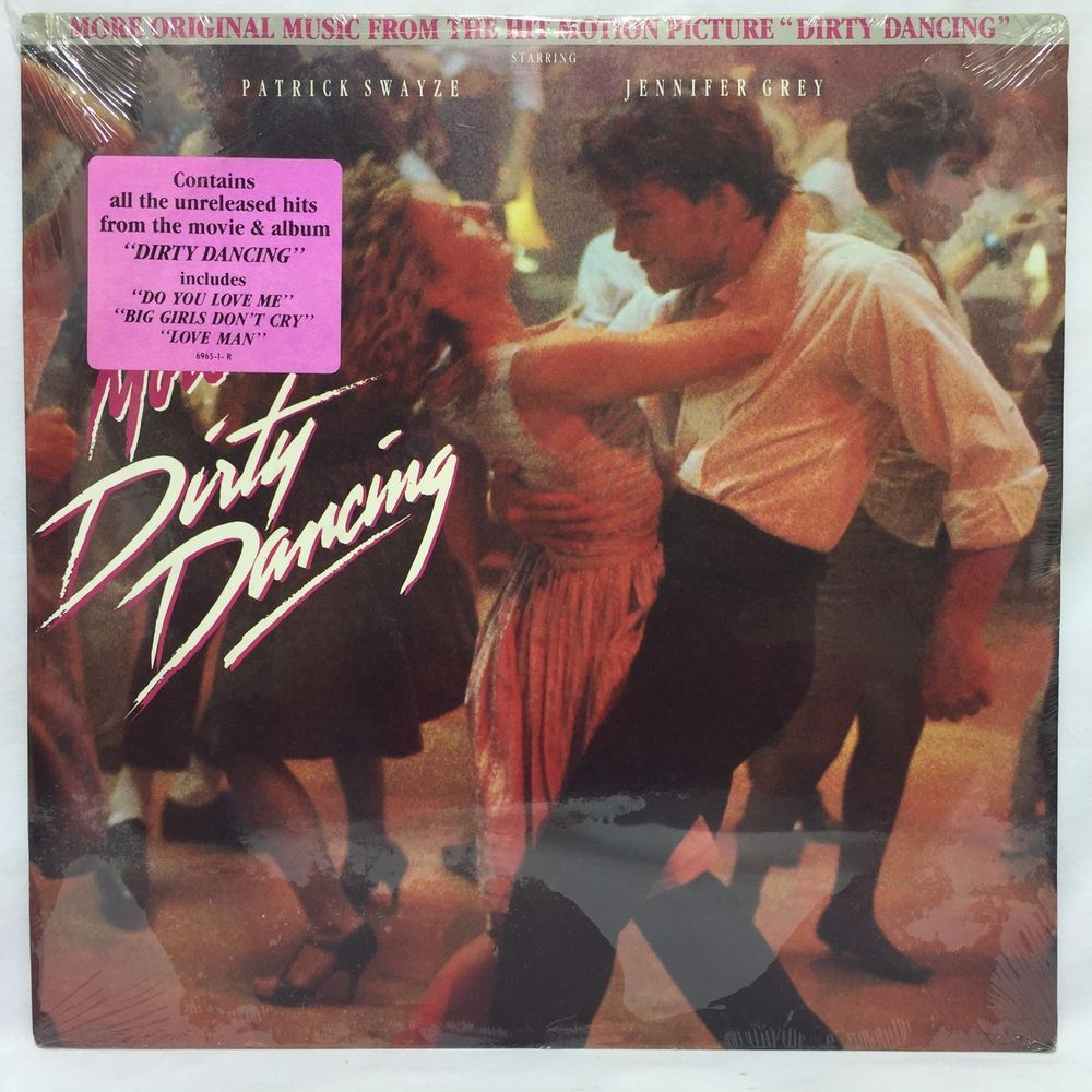 Dirty Dancing Muziek More Dirty Dancing Soundtrack Sealed Small Cutout Lp Vinyl