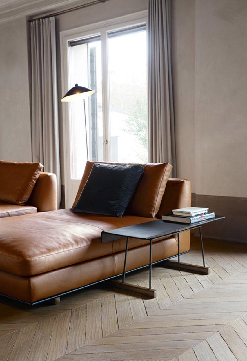 Walter knoll furniture in a darkneutral interior simple design