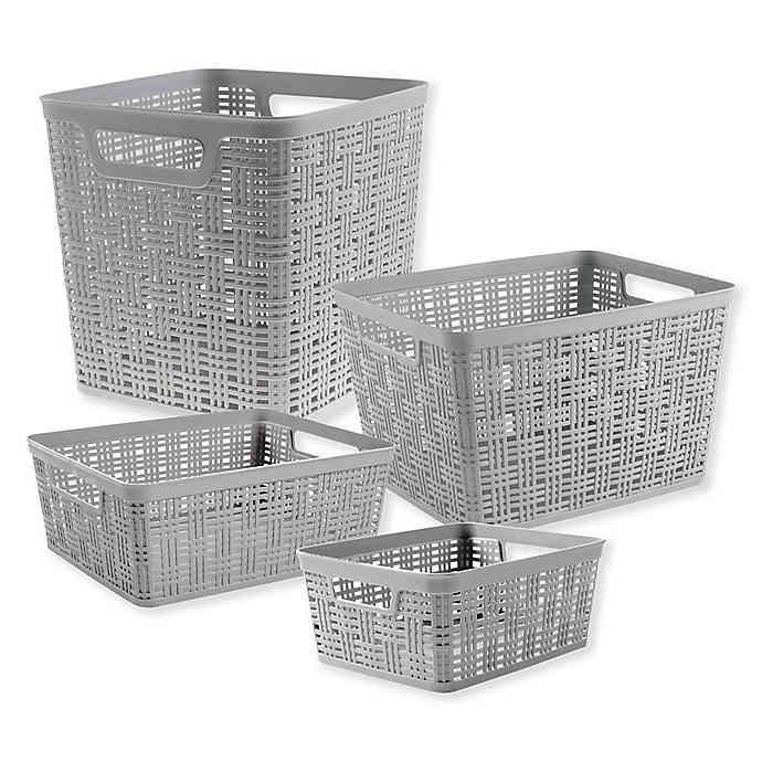 Plastic Storage Basket Bed Bath Beyond Wicker Baskets Storage Storage Baskets Tall Storage Baskets