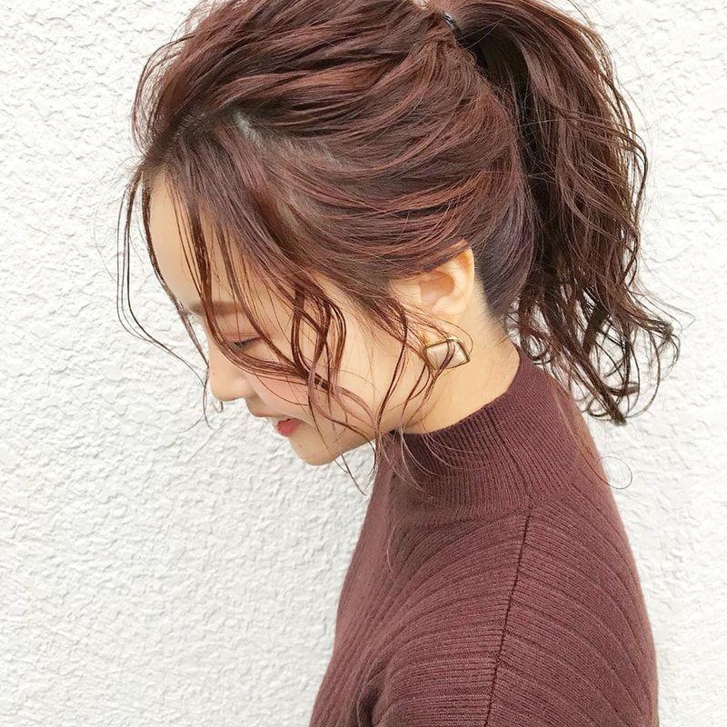 ポニーテール 前髪なし の簡単アレンジを徹底レクチャー 触覚や後れ毛でこなれてみせて ポニーテール 前髪 ポニーテール 前髪なし 前髪なし