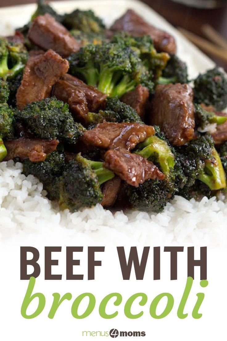 Easy Beef with Broccoli stir fry recipe