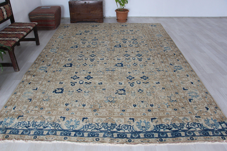 Turkish Rug 7 9 X 11 4 Ft Vintage Rug Area Rug Floor Rug