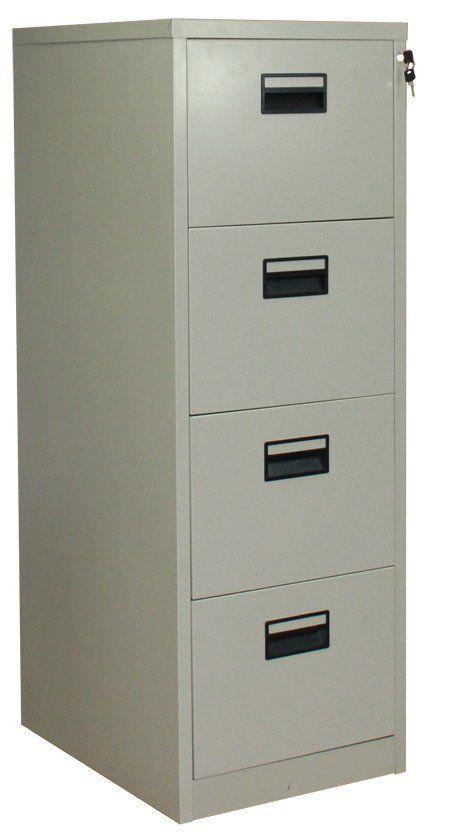 Saladin Filing Cabinet 4 Drawers  sc 1 st  Pinterest & Saladin Vertical Office Filing 4 Drawer Cabinet | Office furniture ...