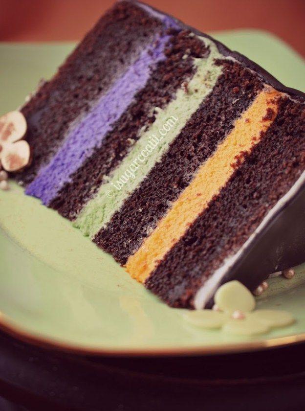 Moroccan Chocolate Birthday Cake - I Sugar Coat It!