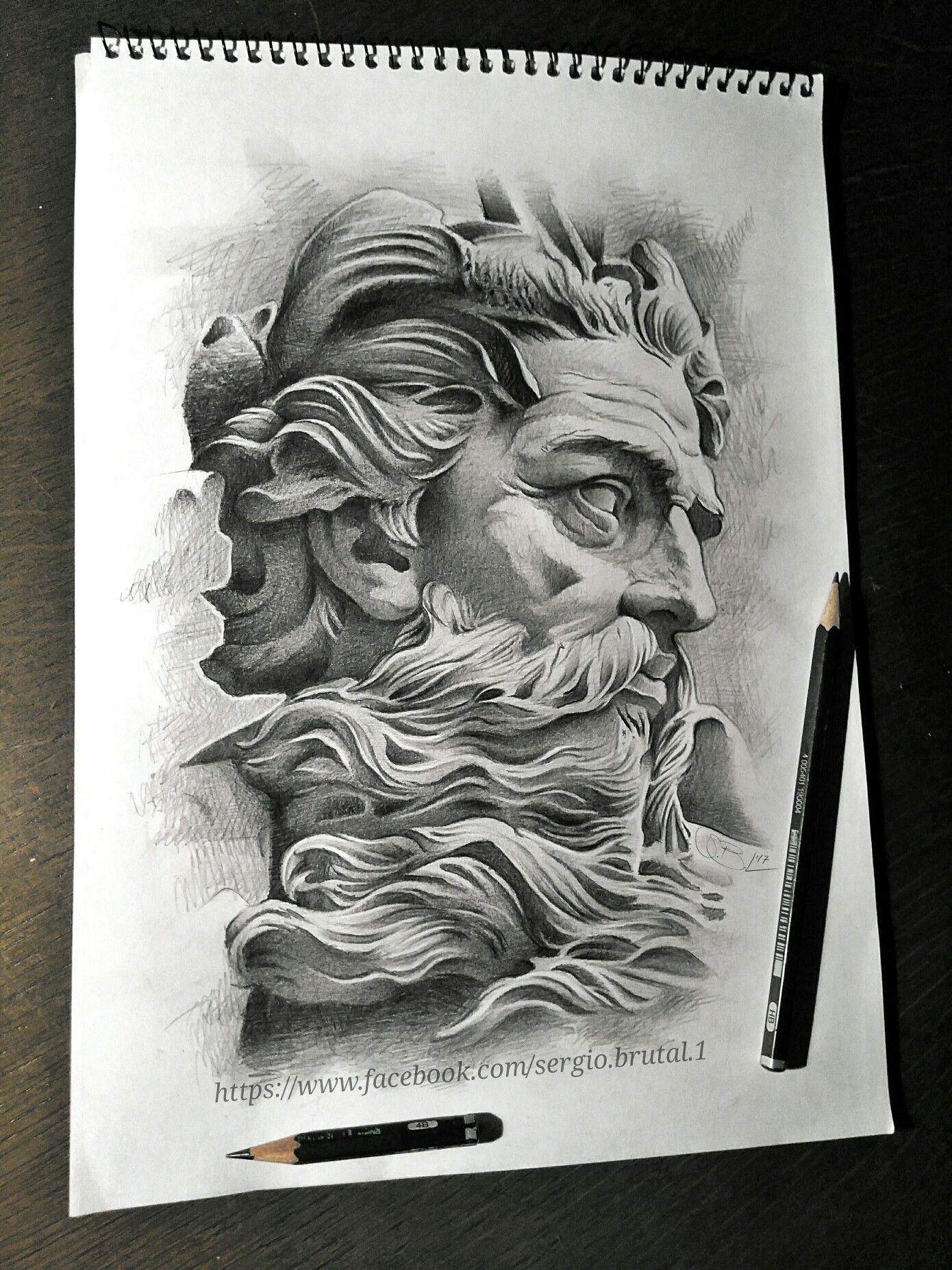 POSEIDON Drawing sketch....