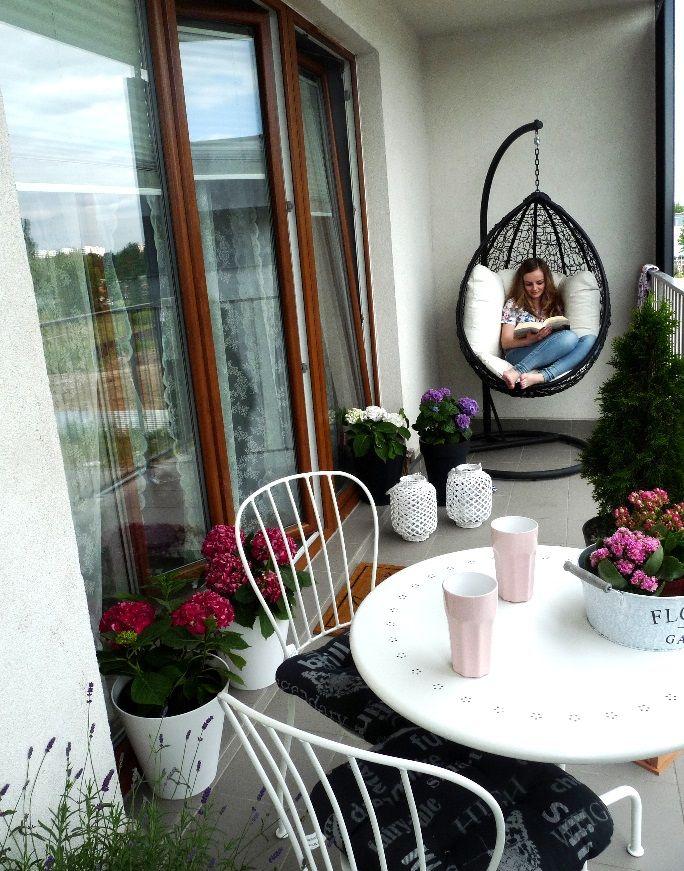 Aranzacja Balkonu W Bloku Szukaj W Google Decor Hanging Chair Home Decor