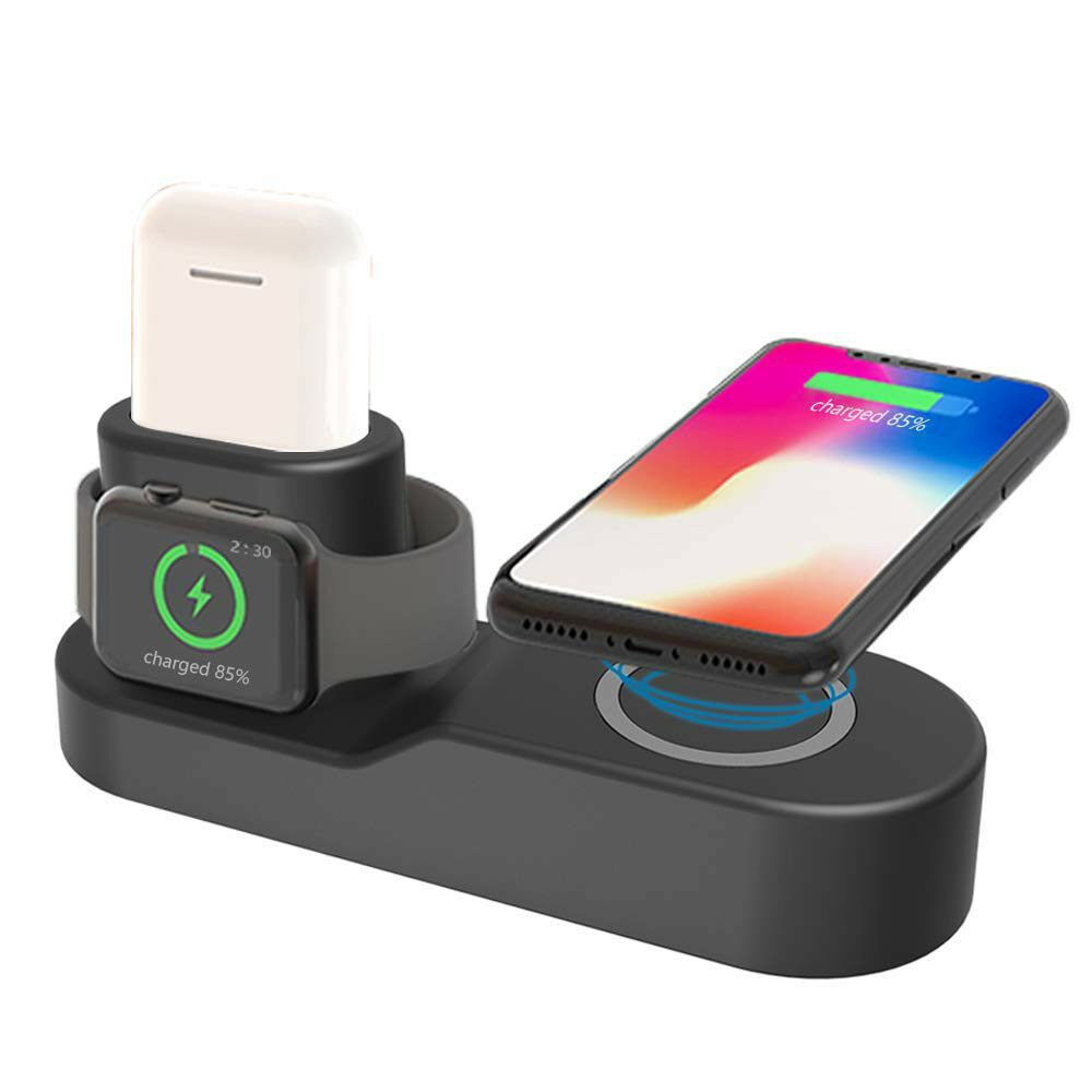New 4 In1 Charging Dock Station Holder Stand For Apple Watch Airpod Iphone X 8 7 Iphone Dock Ideas Of Ipho Apple Watch Iphone Apple Watch Phone Apple Watch