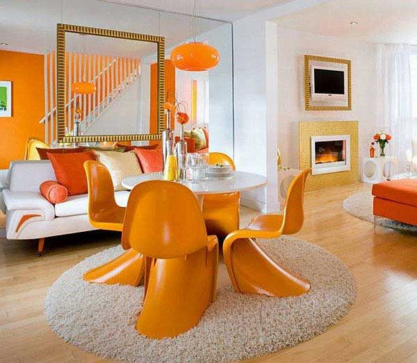 Living Room Decor Orange royal antique showpiece in your drawing room. | personality home