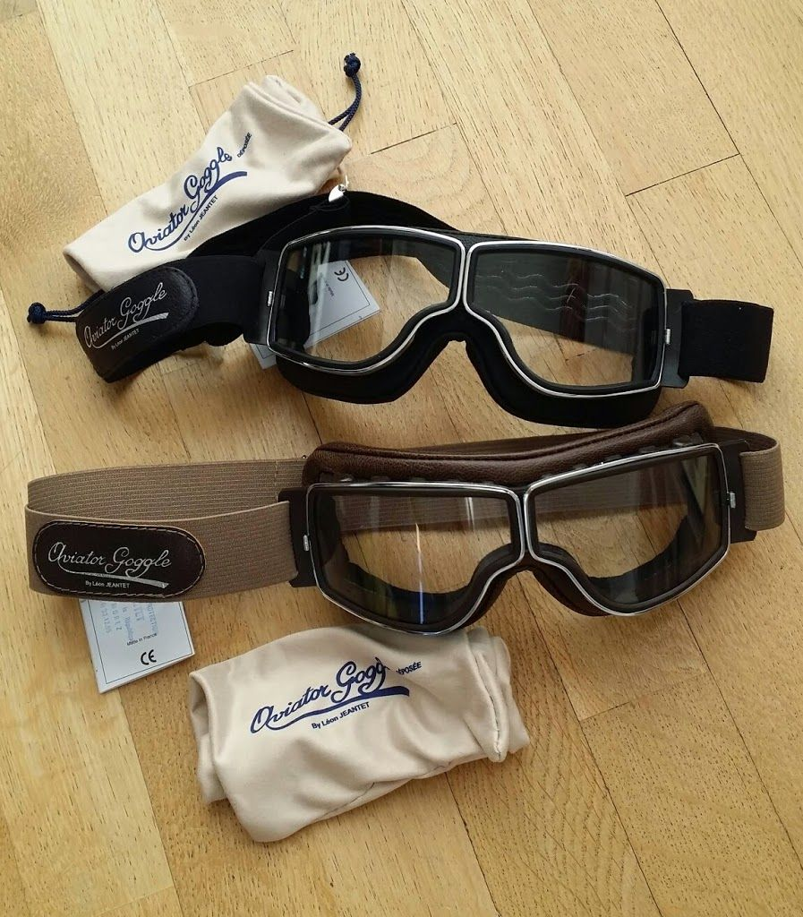 1e087f39359 Lunettes Léon Jeantet Aviator Goggle T2 - chez Boutique 63