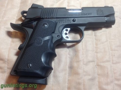 Pistols Springfield Armory 1911 Ultra Compact V10 Ported