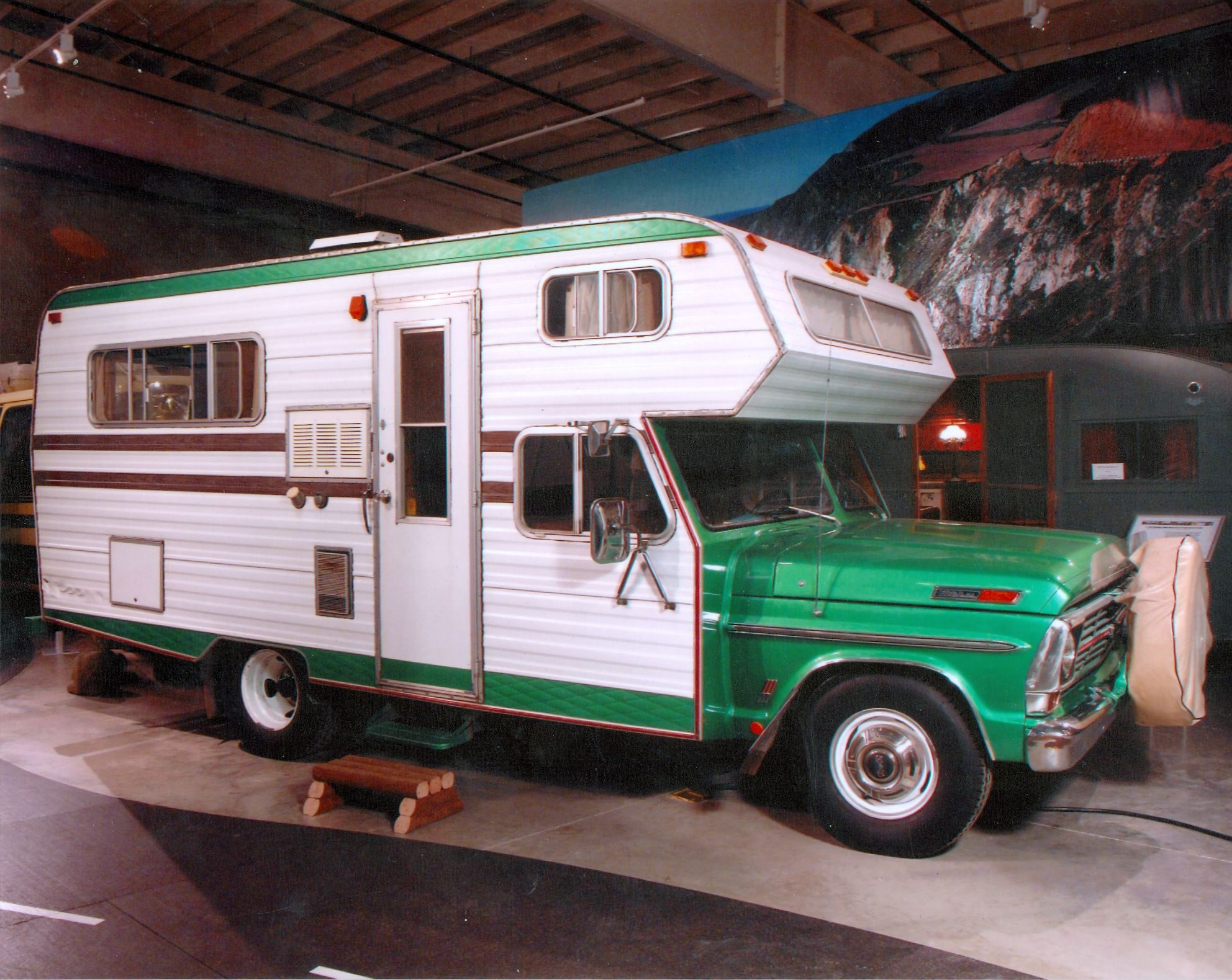 1969 Ford Based Chassis Mount Motorhome Campers