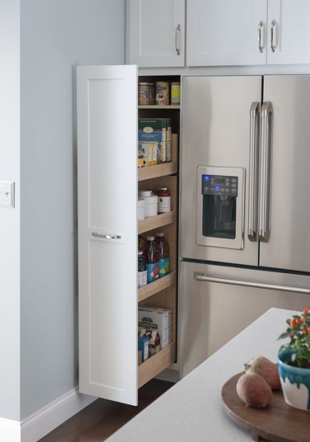 Medallion at Menards Cabinets | Wall Cabinet with Pull-Out ...