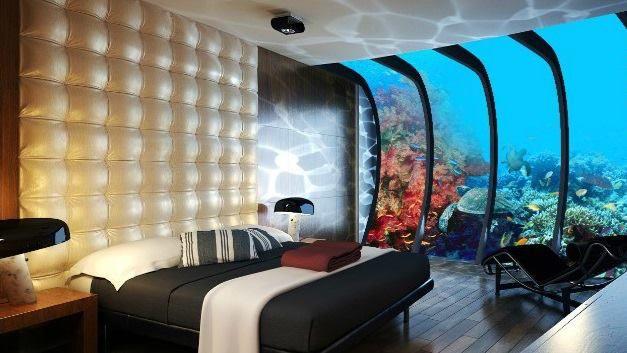 Un hotel submarino para alojarse bajo el mar en maldivas for Hotel bajo el mar dubai