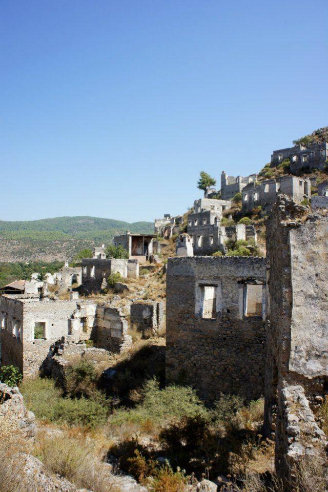 Turkey! Abandoned Village. -LP