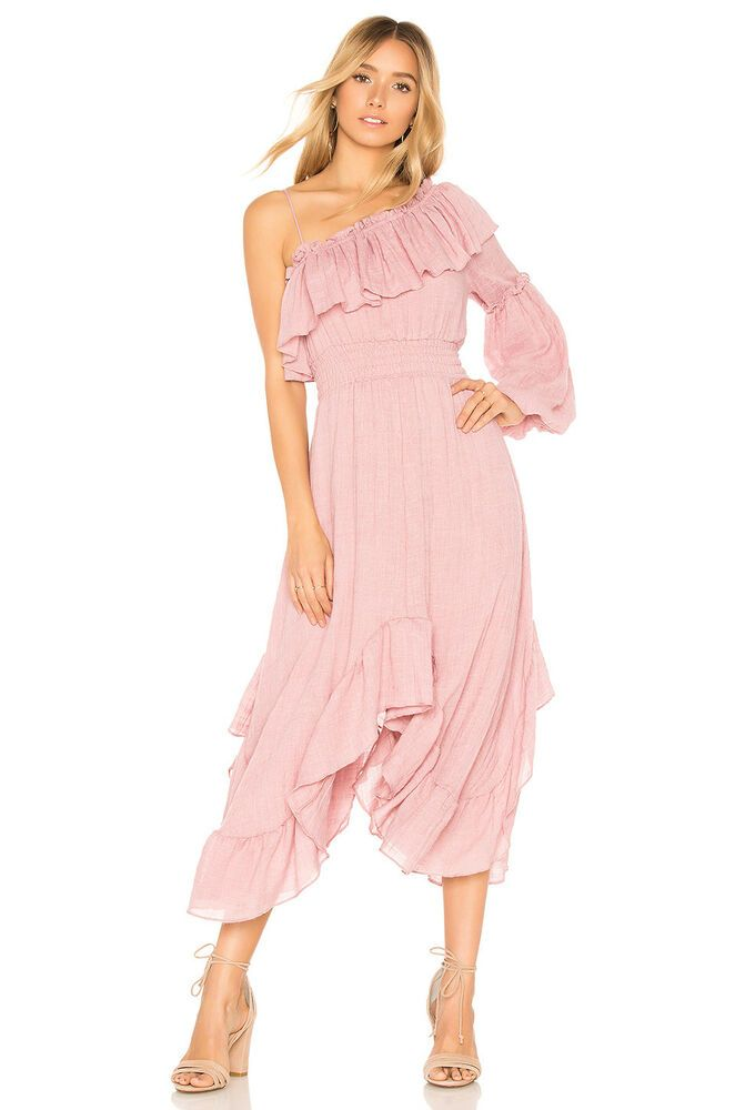 - Wrap front midi dress with button and tie closure. Ties