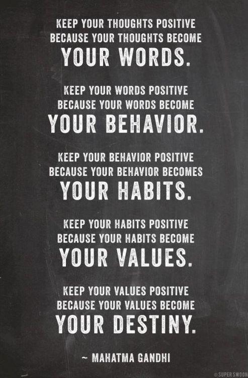Power Of Positive Thinking Quotes New Mahatma Gandhi Quote About The Power Of Positive Thinking