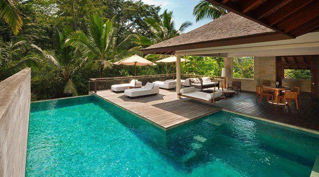 94 idées du0027aménagement pour votre piscine de jardin moderne - amenagement autour d une piscine
