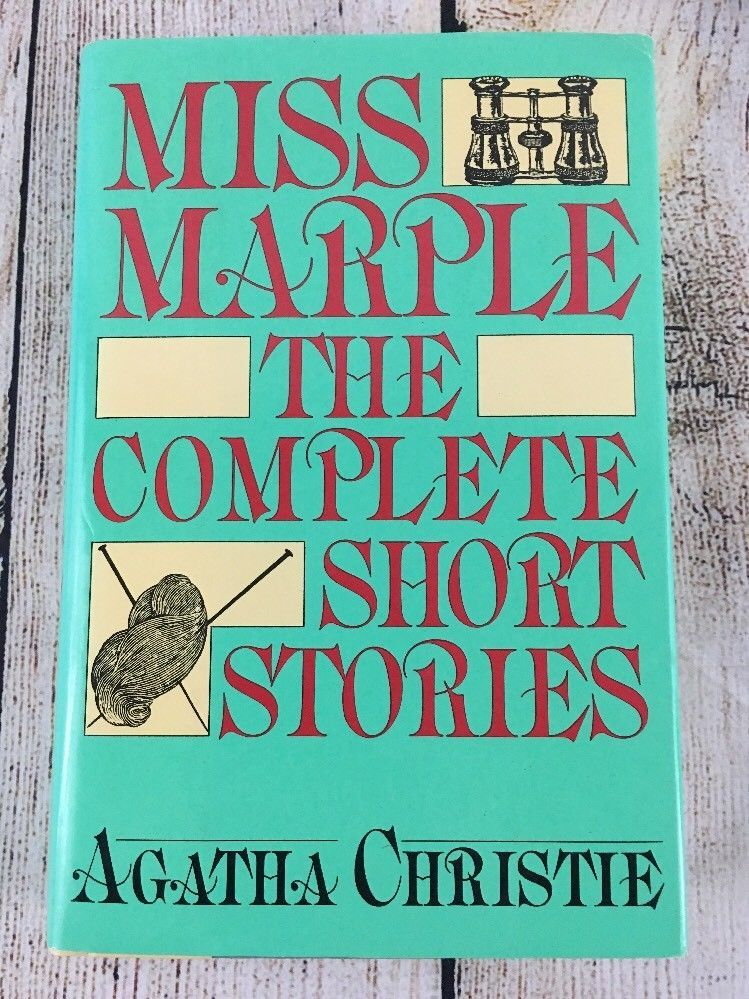 Miss Marple The Complete Short Stories By Agatha Christie Agatha Christie Mystery Writing Short Stories