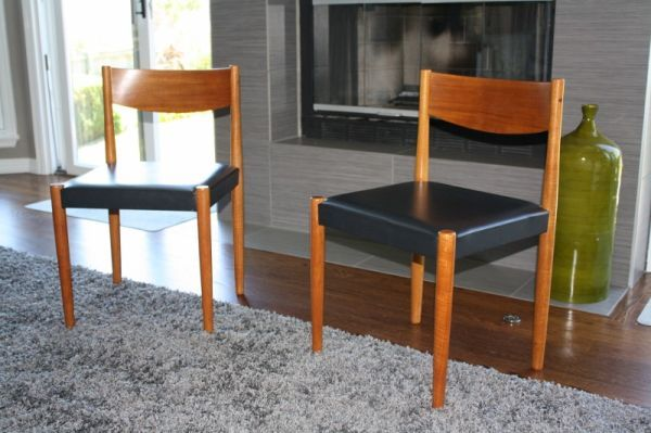 4 Danish Dining Chairs - $140 in Denver South Metro Area ...