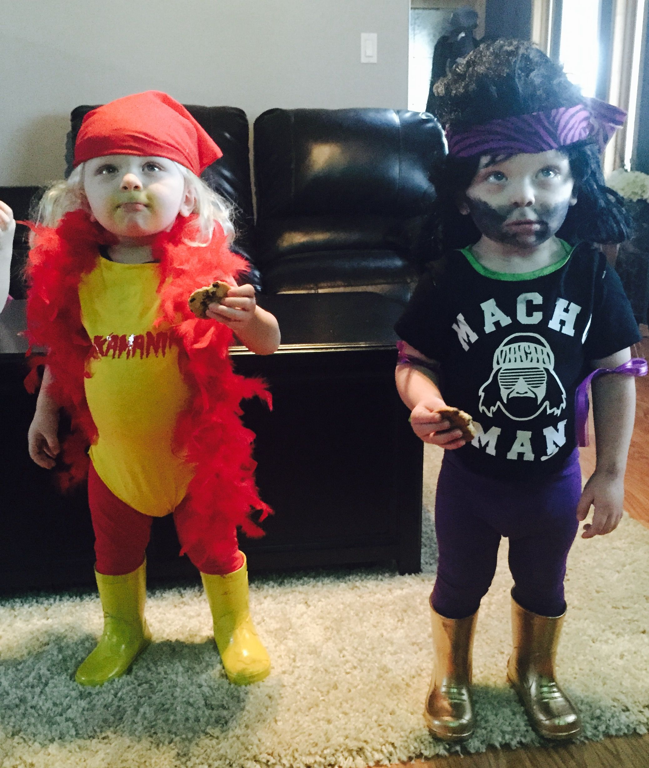 Hulk Hogan & Macho Man Randy Savage twin costume