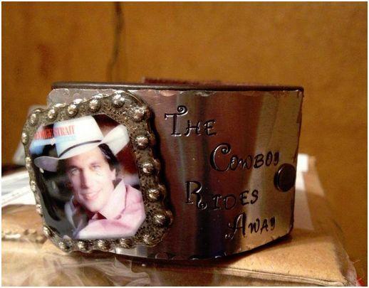 George- Cowboy Rides Away Bracelet Cuff