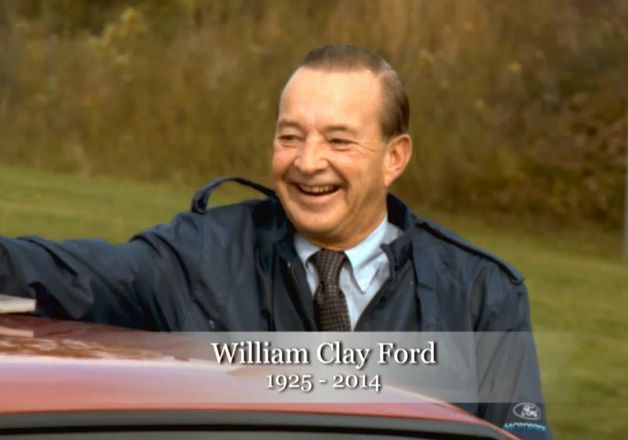 A tribute to William Clay Ford #Ford