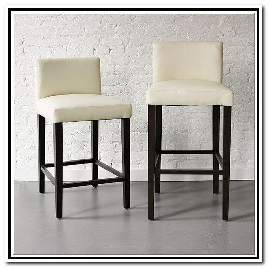 Leather Stools With Back Low Back Leather Counter Stool
