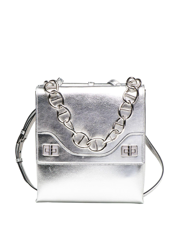 a55f119c4d Vitello Soft Chain Shoulder Bag by Prada