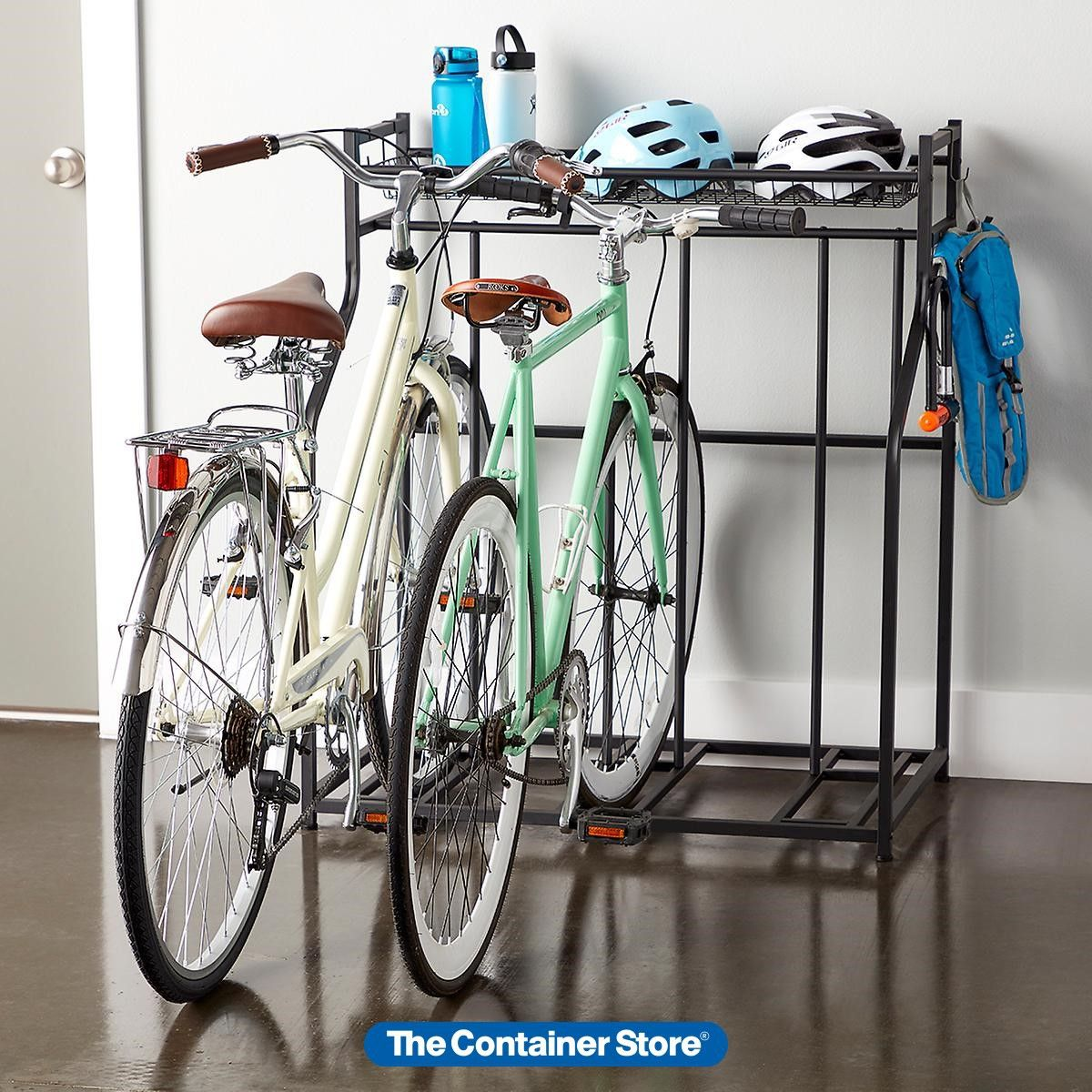 Heavy Duty Triple Bike Rack In 2020 Bike Rack Garage Indoor Bike Storage Bike Storage Garage