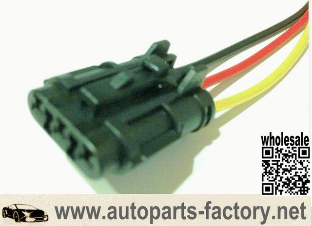 wholesale gm 3 pin female ket connector pigtail wiring harness socket