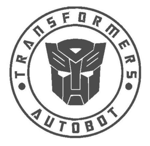 2018 Transformer Hasbro Decepticon Logo Clear background decal,In stock!