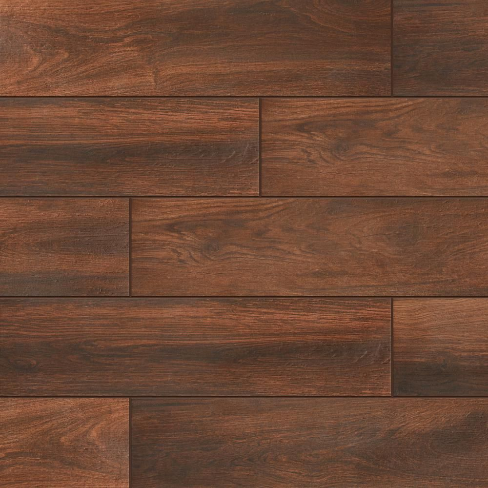LifeProof Autumn Wood 6 in. x 24 in. Porcelain Floor and