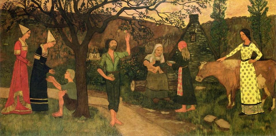 Apple Pickers ,1898, by Paul Serusier