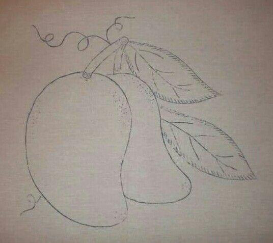 Mangos Pintar En Tela Dibujos Para Bordar Molde Para Bordar