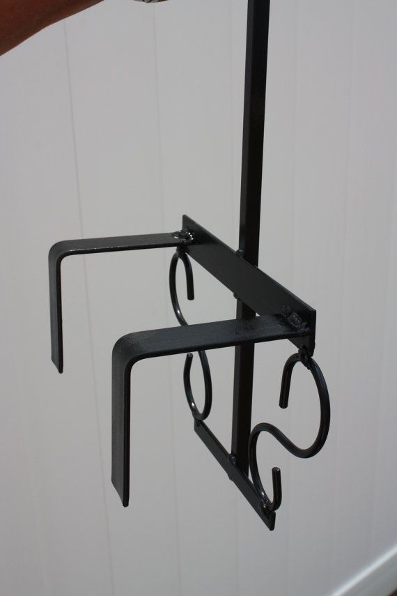 Wrought Iron Shepherd S Hook For Vinyl By Homeandyardtreasures