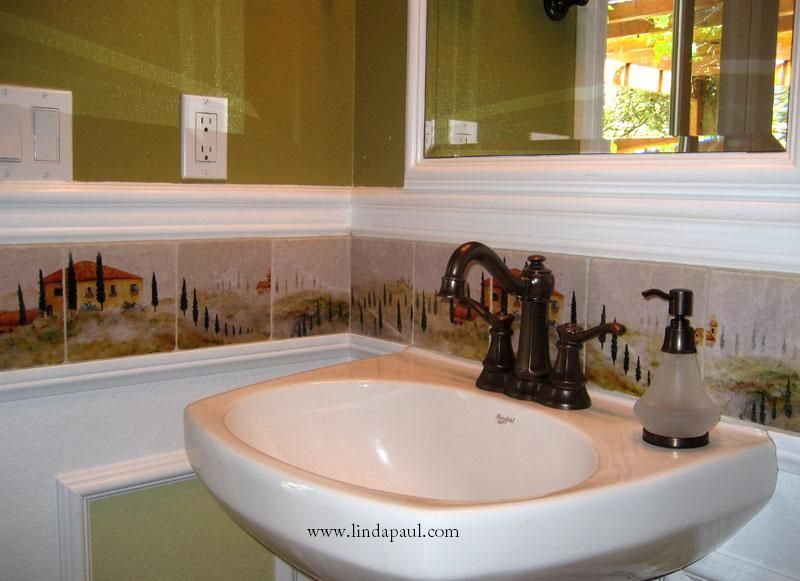 Faux Kitchen Backsplash Ideas  We Have Some Great Bathroom Delectable Great Bathroom Ideas Design Ideas