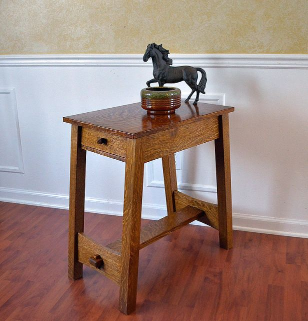 Lost Stickley Table Dressed