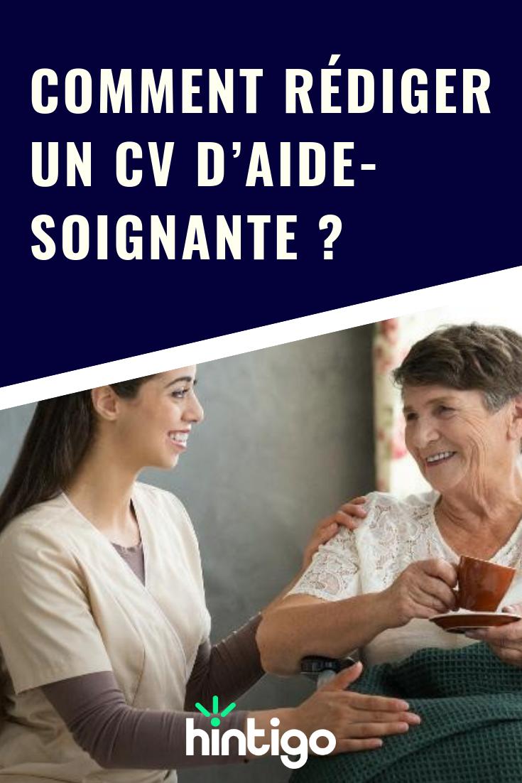Comment Rédiger Un Cv D Aide Soignante In 2019 Finance Et