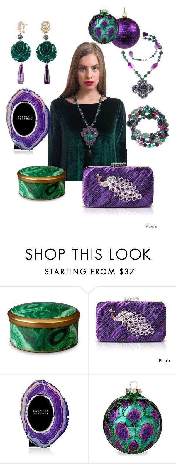 """Turandot collection from Yaroslavna.com"" by yaroslavna-dobryanskaya ❤ liked on Polyvore featuring L'Objet, Jacki Design and Anna New York"