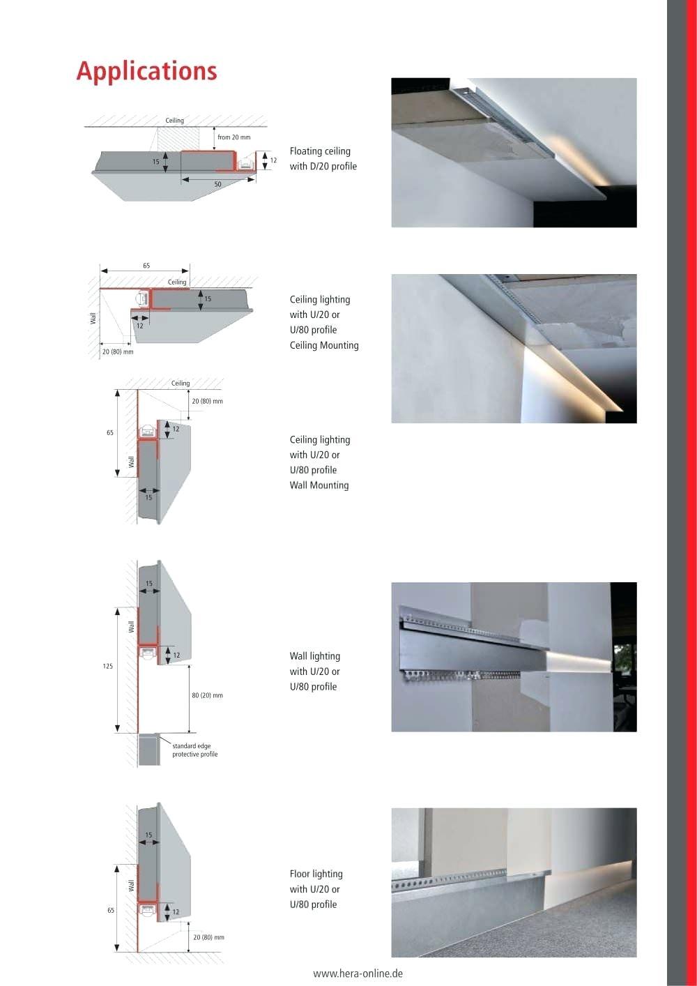Trockenbauwand Dubel Construction Trockenbau Fischer Schwerlast Seitenbeleuchtung Streifenbeleuchtung Blitz Design