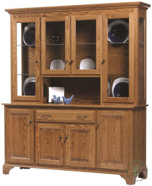Traditional In Every Way Our Westland Large China Hutch Has A Place