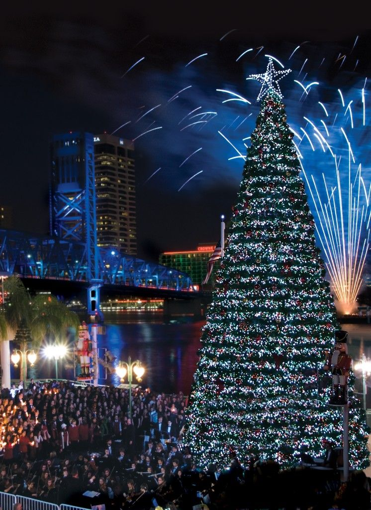 Christmas Around The World Catalog 2019.Christmas Tree Lighting At Jacksonville Christmas Around