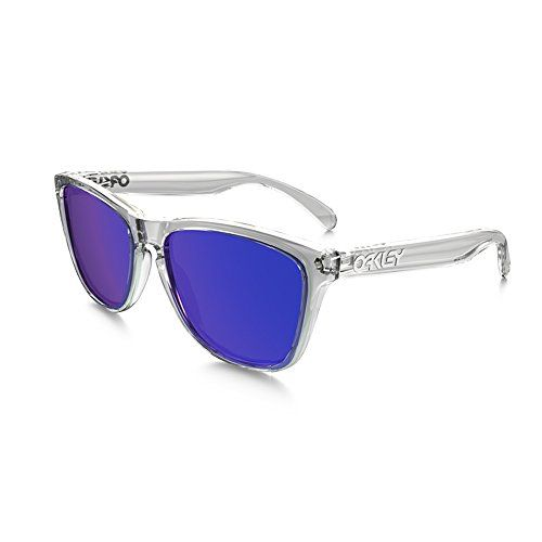 3b0da7441aed6 Oakley Sunglasses Sonnenbrille Frogskins Polished Clear