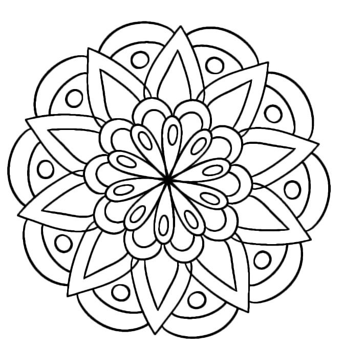 Pin by Beardad17 on Coloring Book Pages Pinterest Mandala