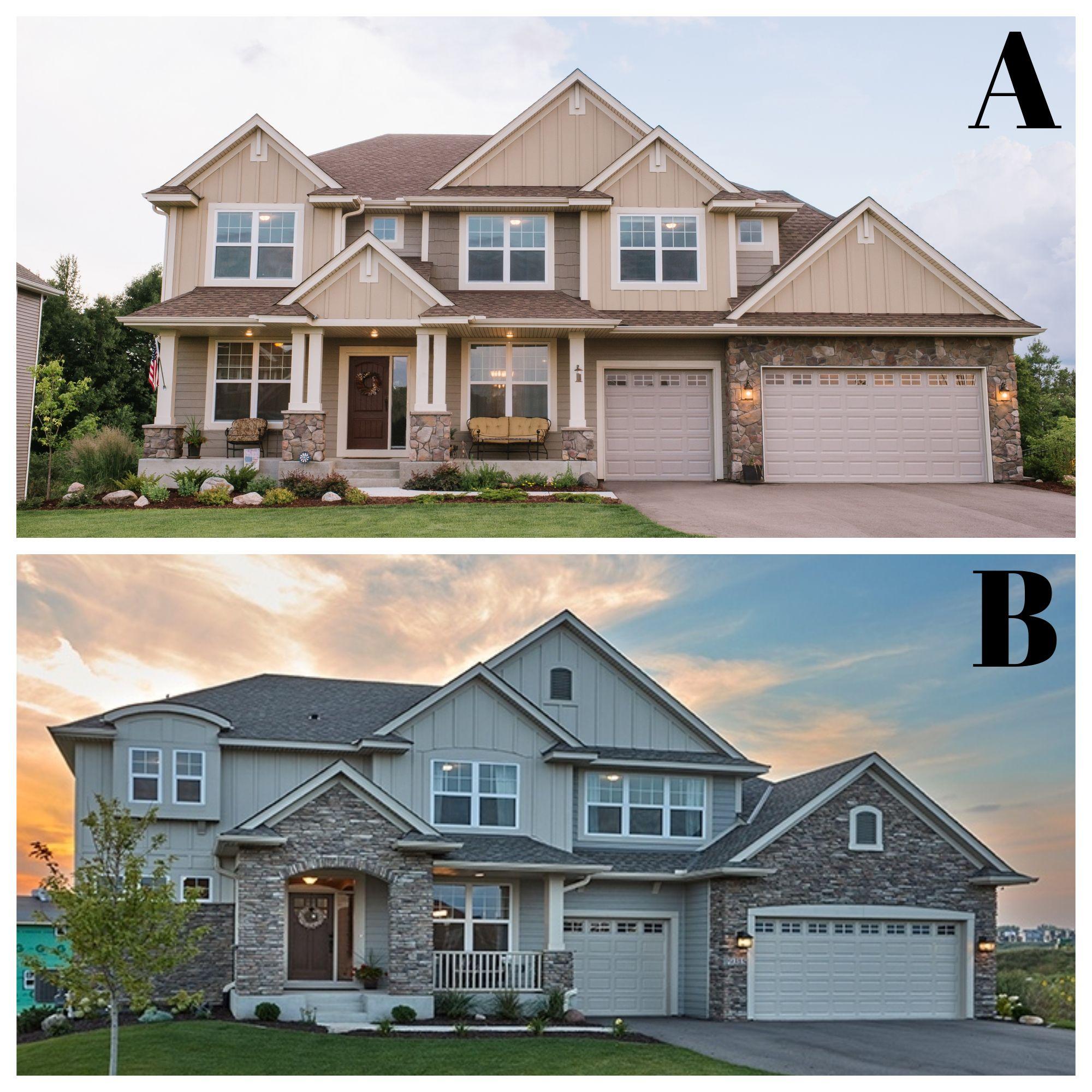 Pick One Minnesota Home Eagle Homes New Home Construction