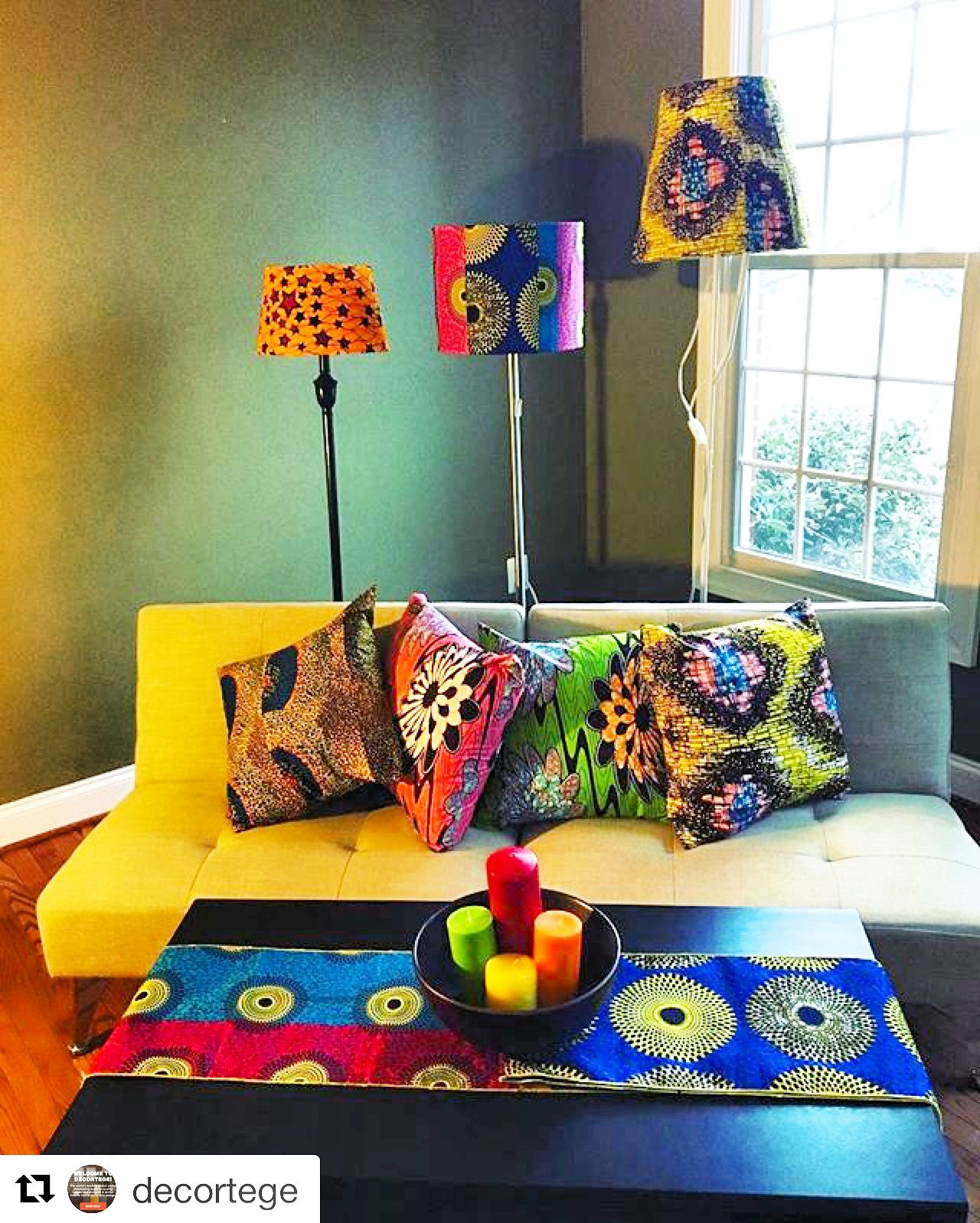 House Decorators: Shop Our Assorted Collection Of African Print Home Decor