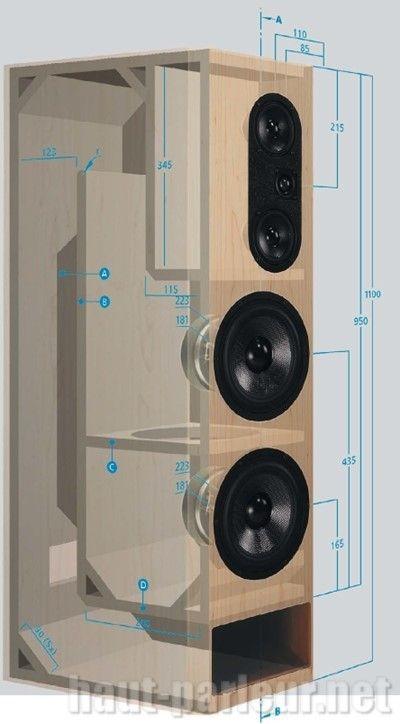 vue clat e de l 39 b nisterie du kit d 39 enceinte kodex circuit pinterest ebenisterie. Black Bedroom Furniture Sets. Home Design Ideas