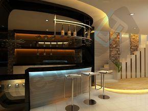 Bar Counter 3d Design Skudai Jb Design Cai Yi Construction M Sdn