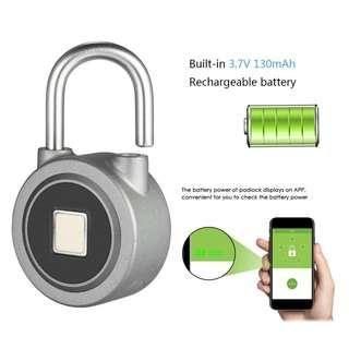 Fingerprint Smart Keyless Lock Waterproof APP Button