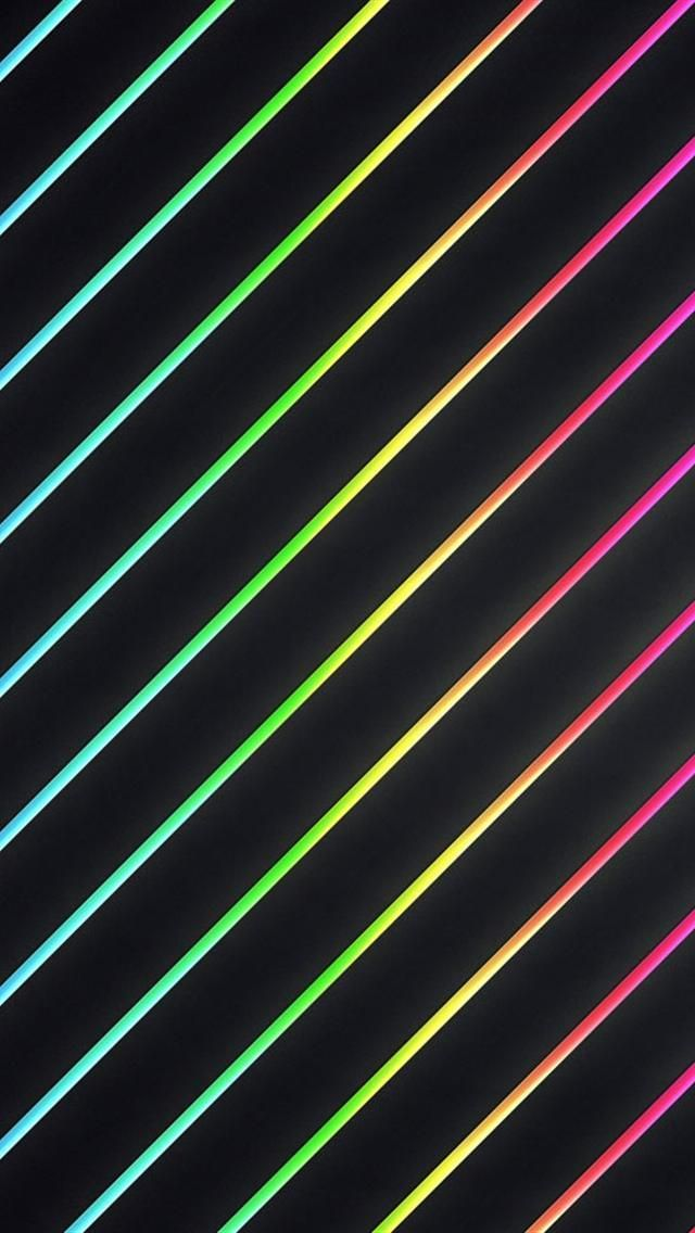 Black Neon Wallpaper Colour